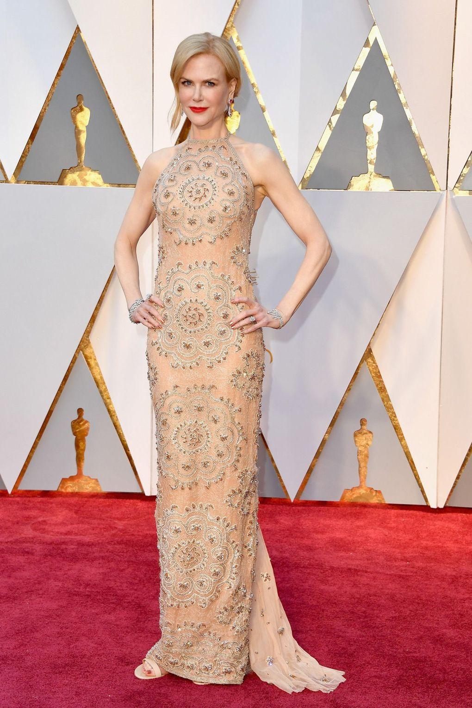 Nicole Kidman v šatech Armani Privé