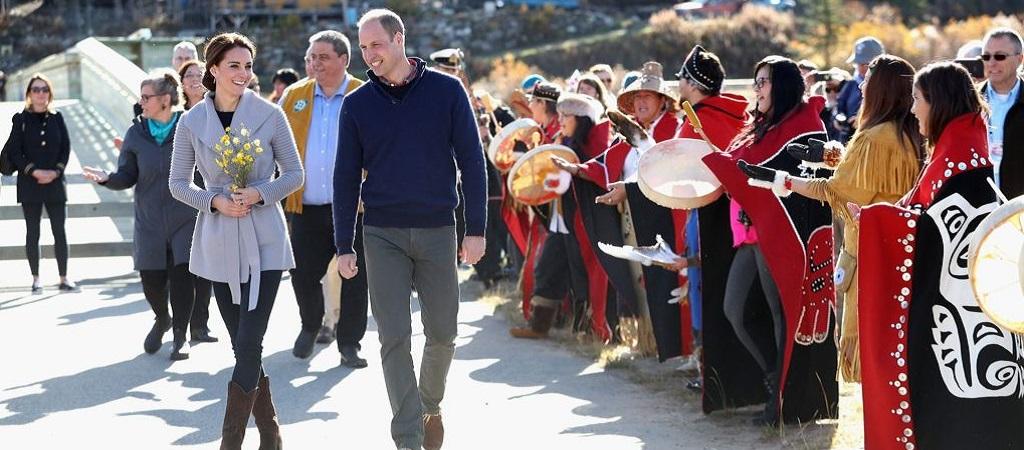 Britská vévodkyně Kate na návštěvě Kanady stylově obstála
