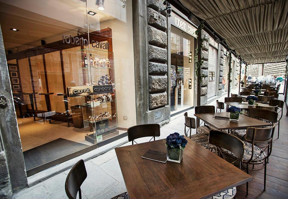 Kavárna Roberto Cavalli