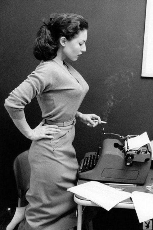 Sekretářka, 1950