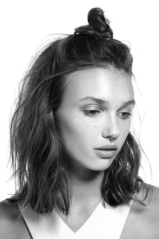 16-le-fashion-blog-19-ways-to-wear-a-half-up-top-knot-bun-long-bob-hair-septum-nose-ring-via-nasty-gal