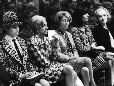Módní přehlídka v roce 1970