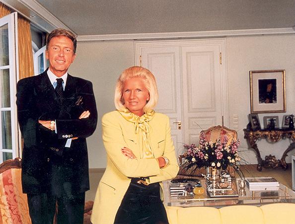 Wolfgang a Margaretha Ley v roce 1976