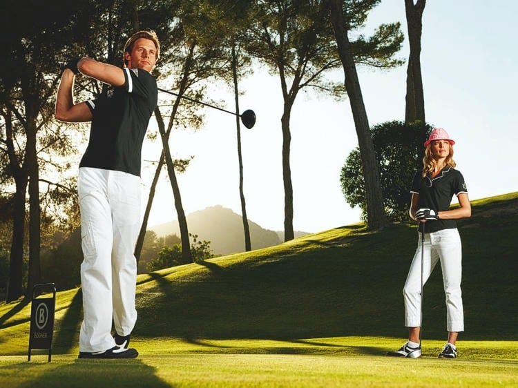 Bogner Golf Shooting Mallorca