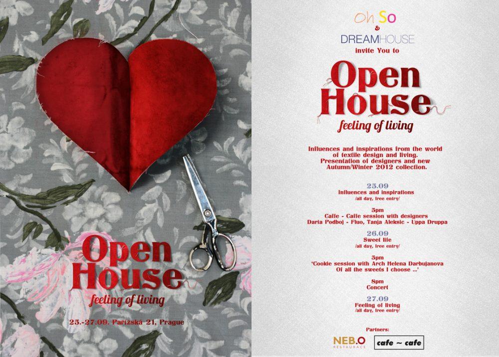 OPEN HOUSE pozvánka