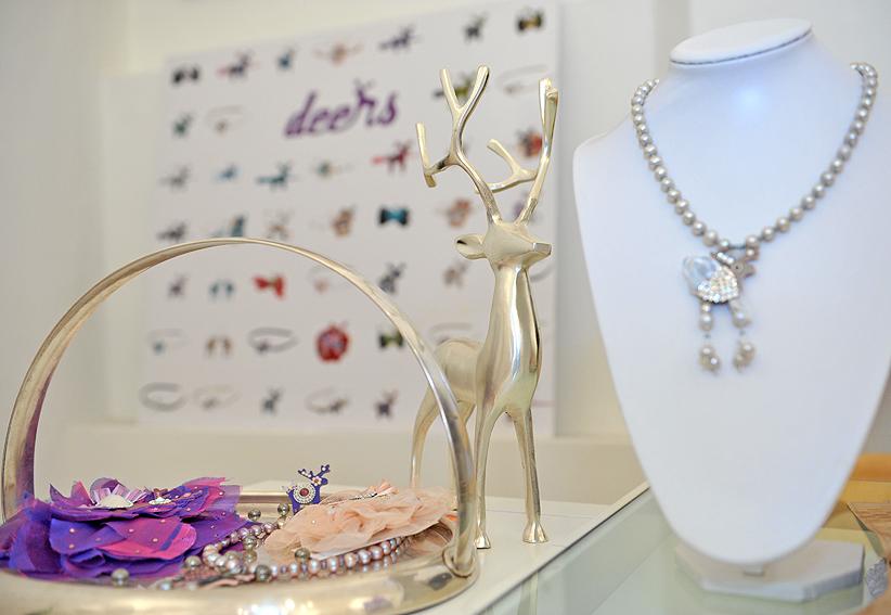 Šperky s jelínky Deers: foto pro Deers Jan Branč