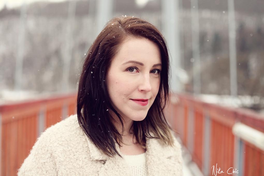 Bloggerka Nikola kromě psaní i fotí.