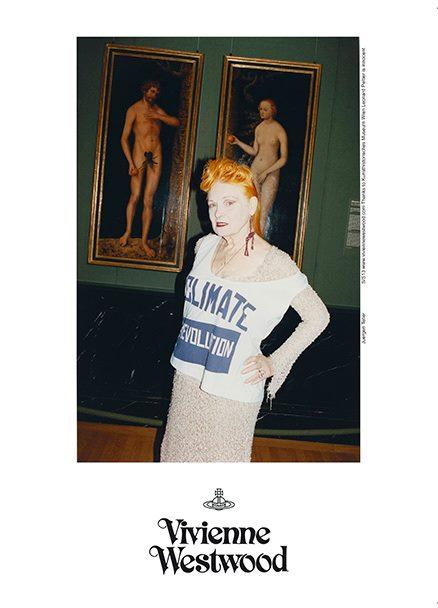Vivienne Westwood tváří vlastní jarní kampaně