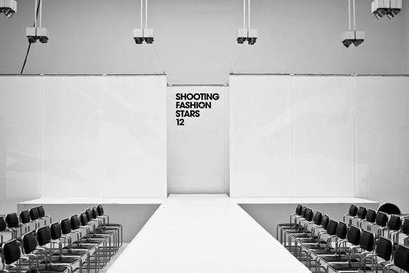 Shooting Fashion Stars 2012 se odehrával v čistých prostorách galerie Mánes