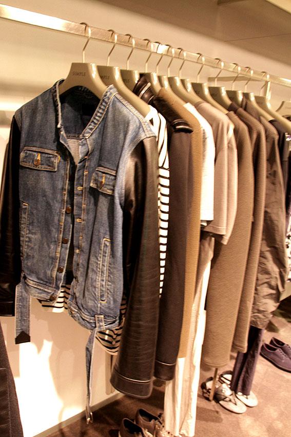 Páni v SIMPLE najdou značky jako Lanvin, Alexander McQueen, Saint Laurent nebo Dior Homme.