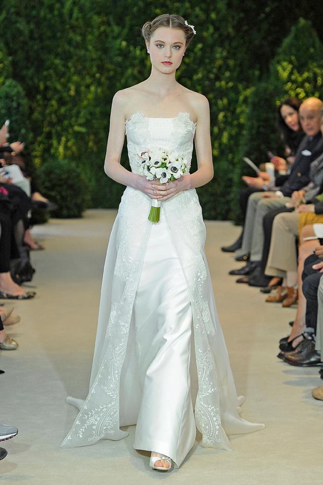 Carolina Herrera svatba jaro 2014