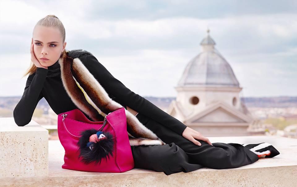 1c212433d07 Oko do zákulisí reklamní kampaně Fendi