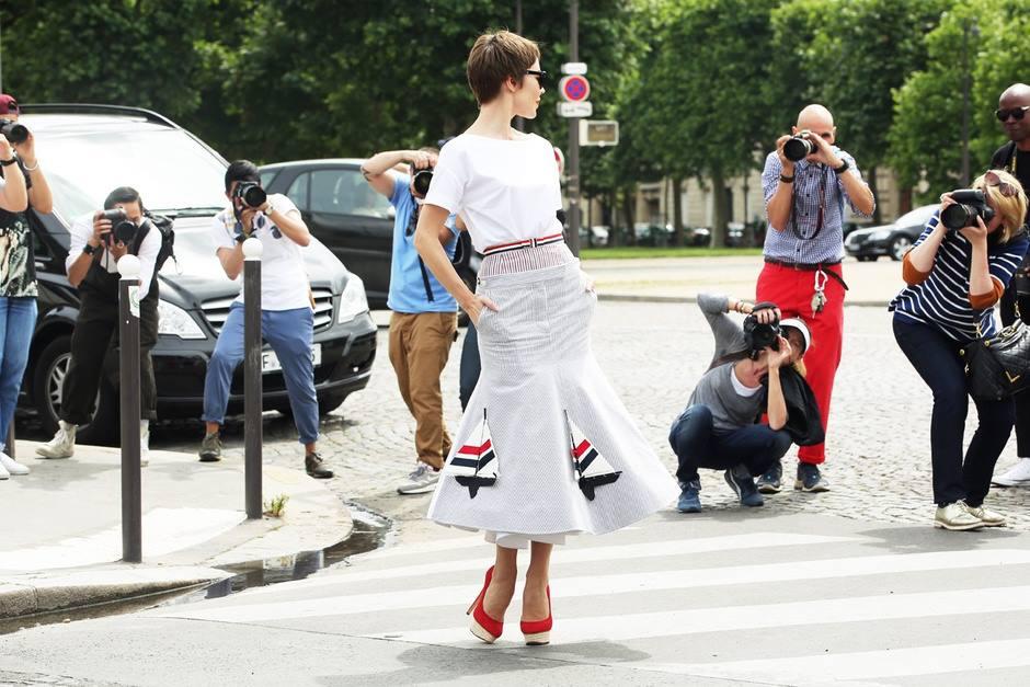 c510c960dc6 Styl z ulice během přehlídek haute couture