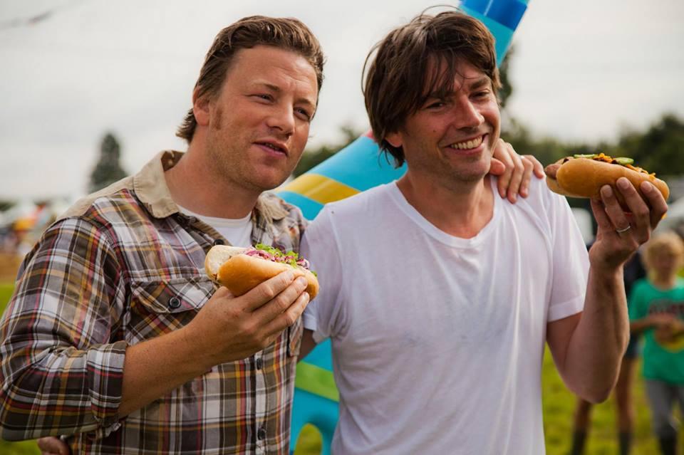 Jamie Oliver pořádá hudební festival