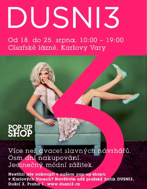 DUSNI3 pop-up shop