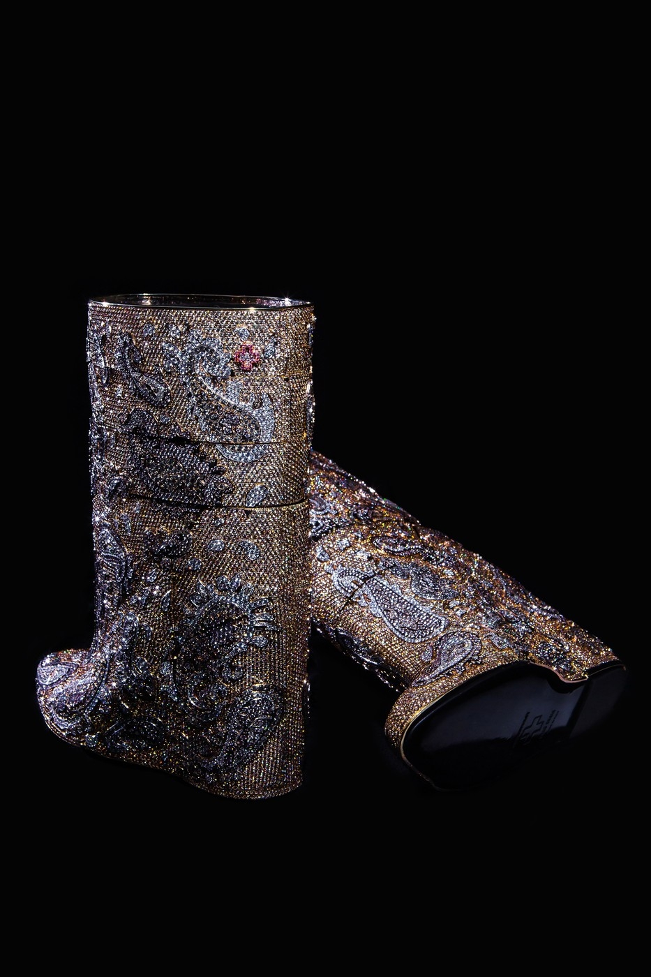 World's most expensive bootsb will give you twinkle toes