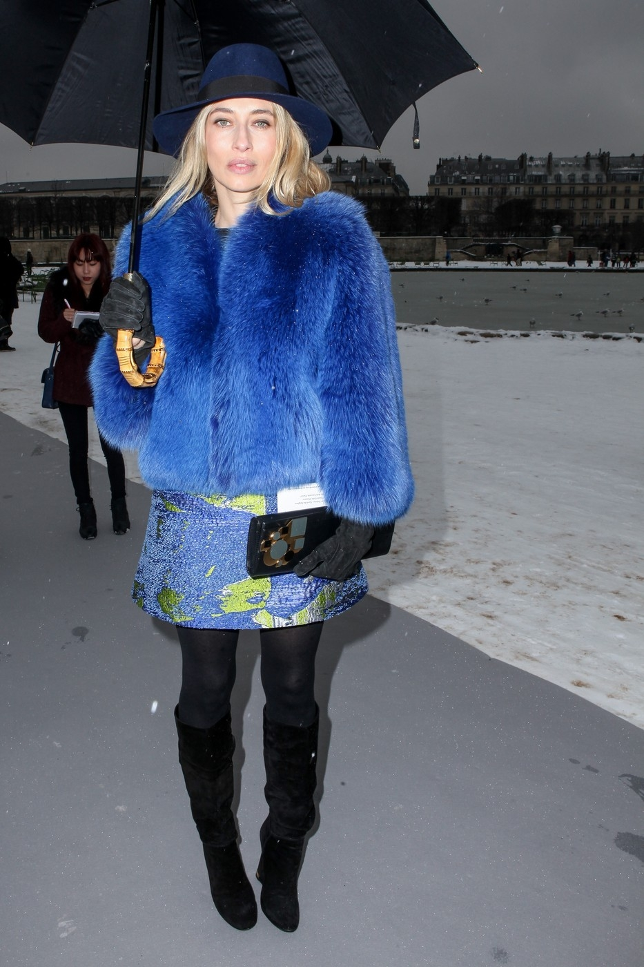Paris Fashion Week - Dior Fashion Show - Arrivals