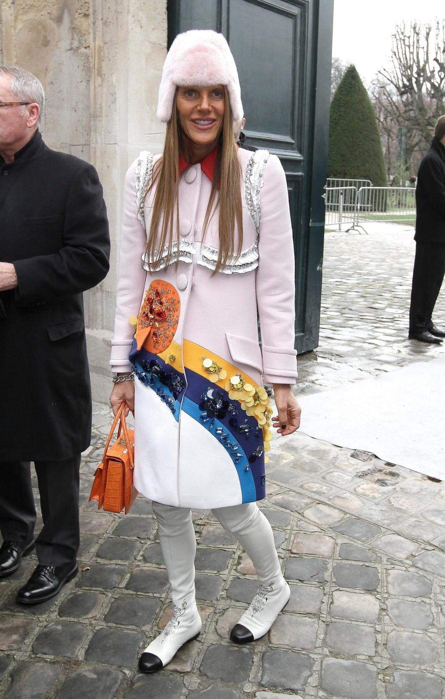 Celebrities attend Christian Dior fashion catwalk