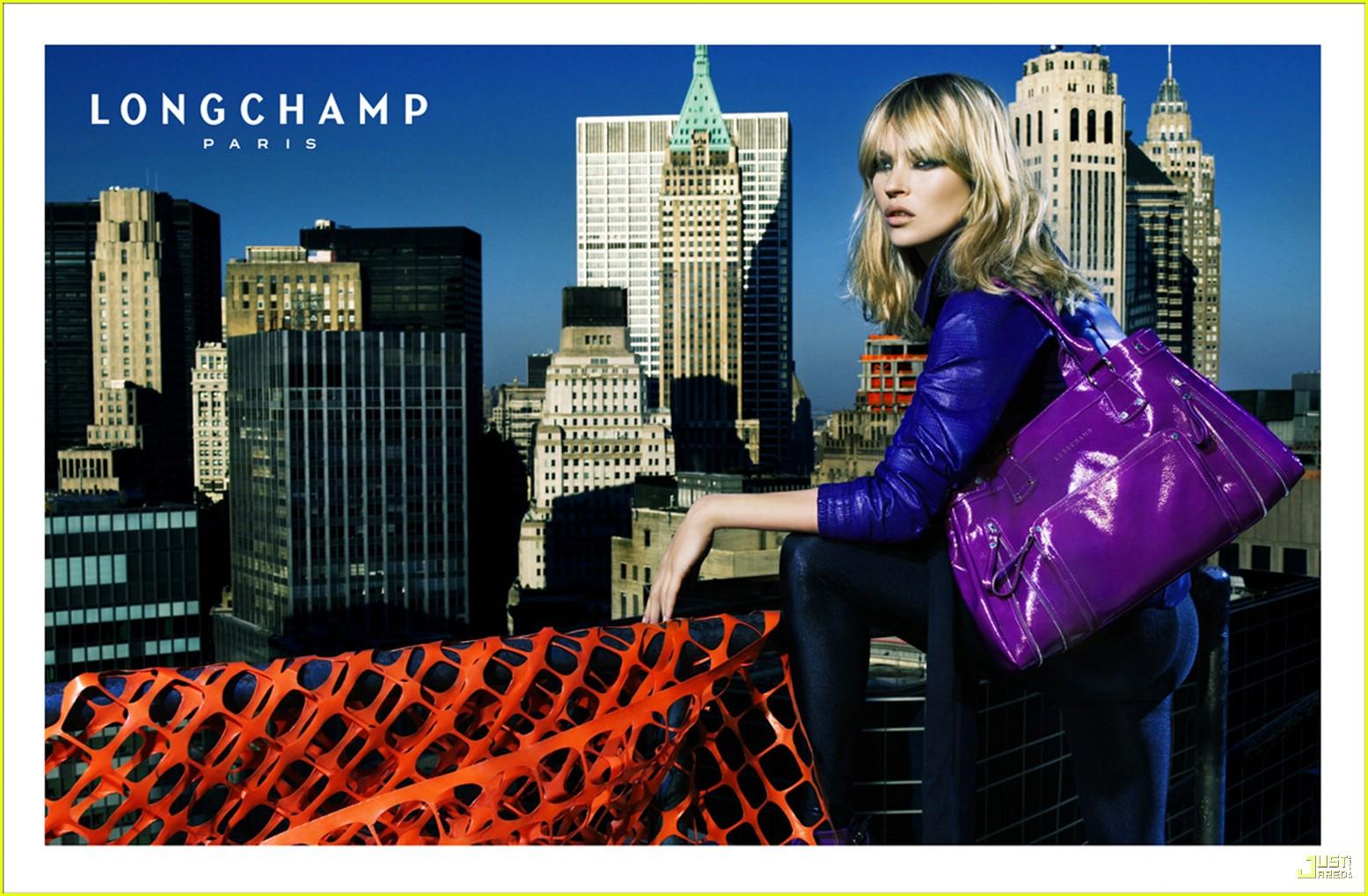 Kate Moss pro Longchamp