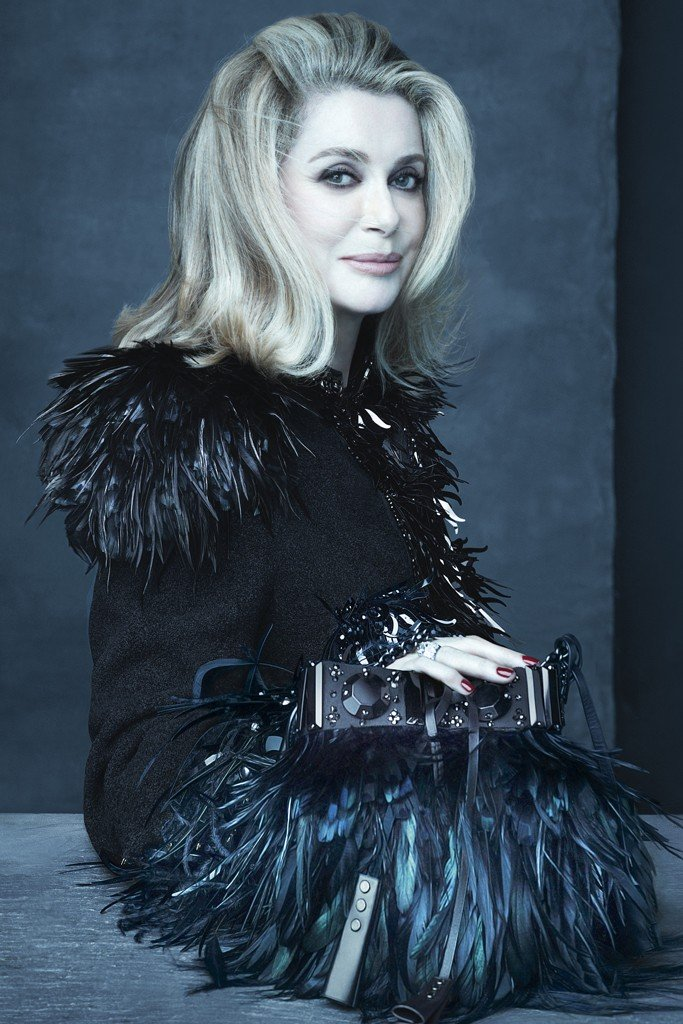 Catherine Deneuve pro Louis Vuitton