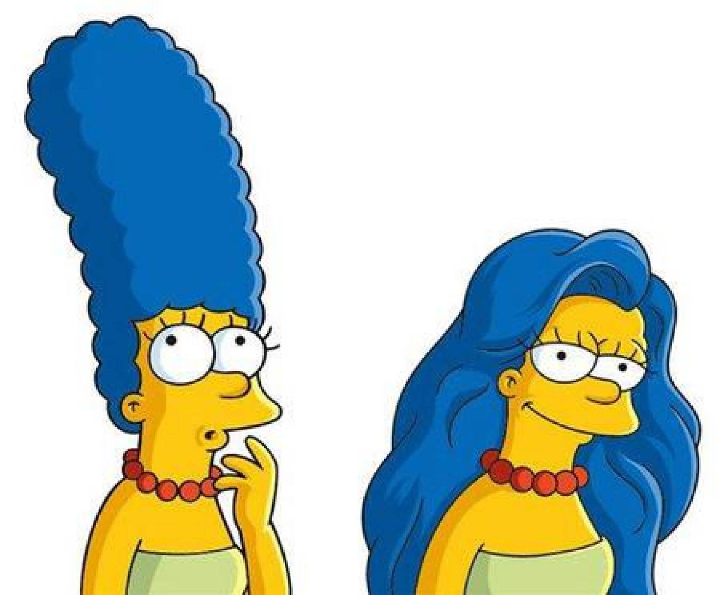 MARGE SIMPSON lets her hair down for the new Dove commercial USA - January 2005 Supplied by WENN