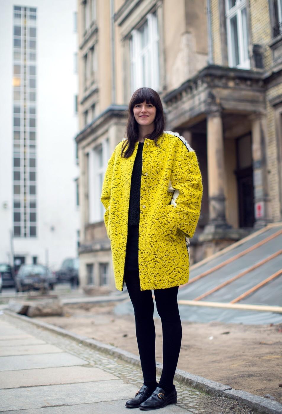 EXCLUSIVE Mercedes Benz Fashion Week Berlin Autumn/Winter 2014 - Streetstyle