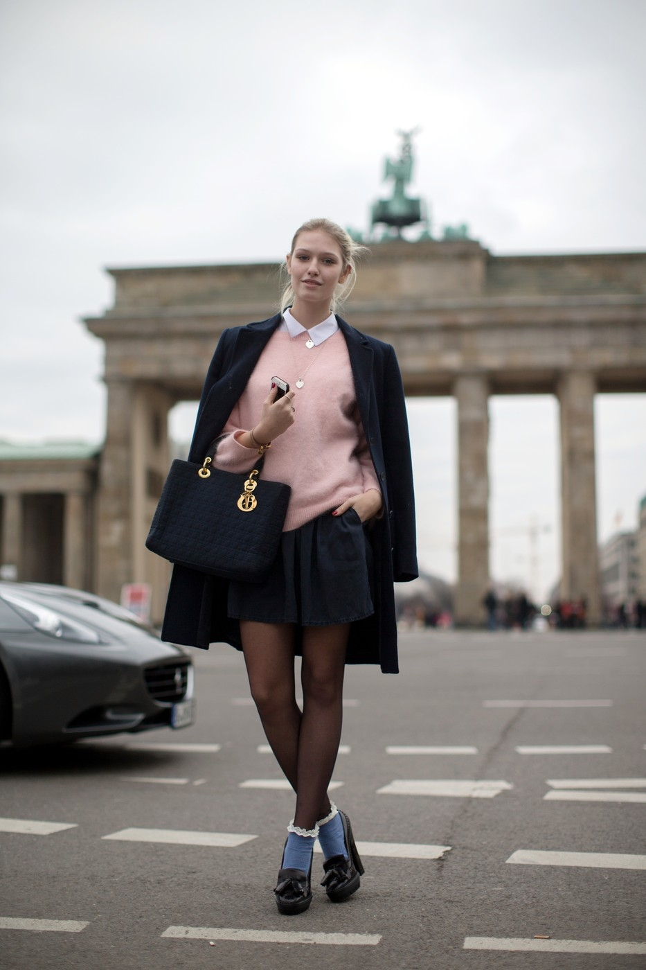 EXCLUSIVE Mercedes-Benz Fashion Week Berlin Autumn/Winter 2014 - Streetstyle