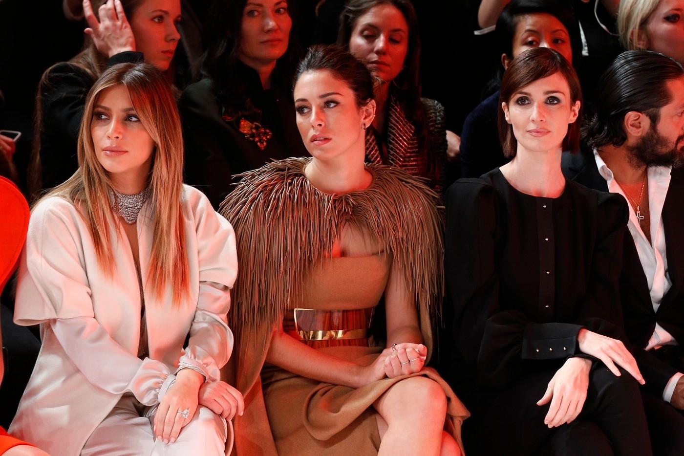 Kim Kardashian attends the Stephane Rolland show