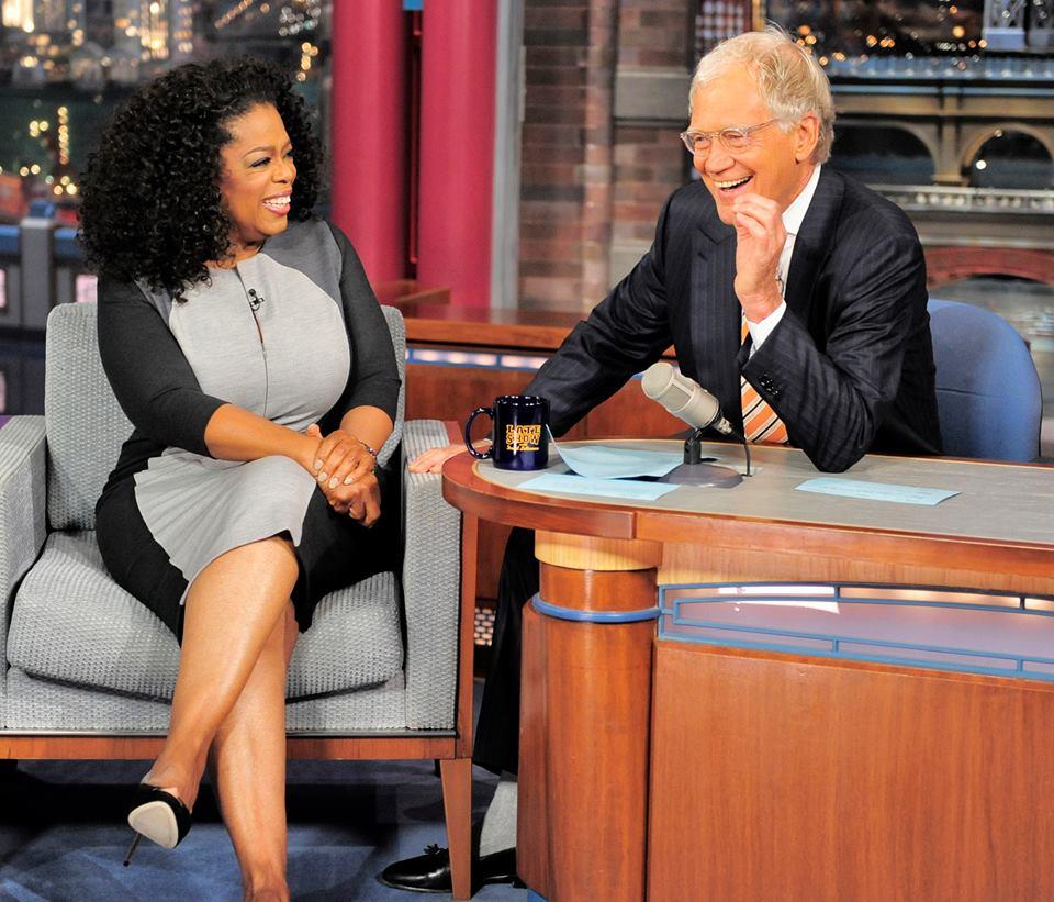 Oprah na opačné straně stolu