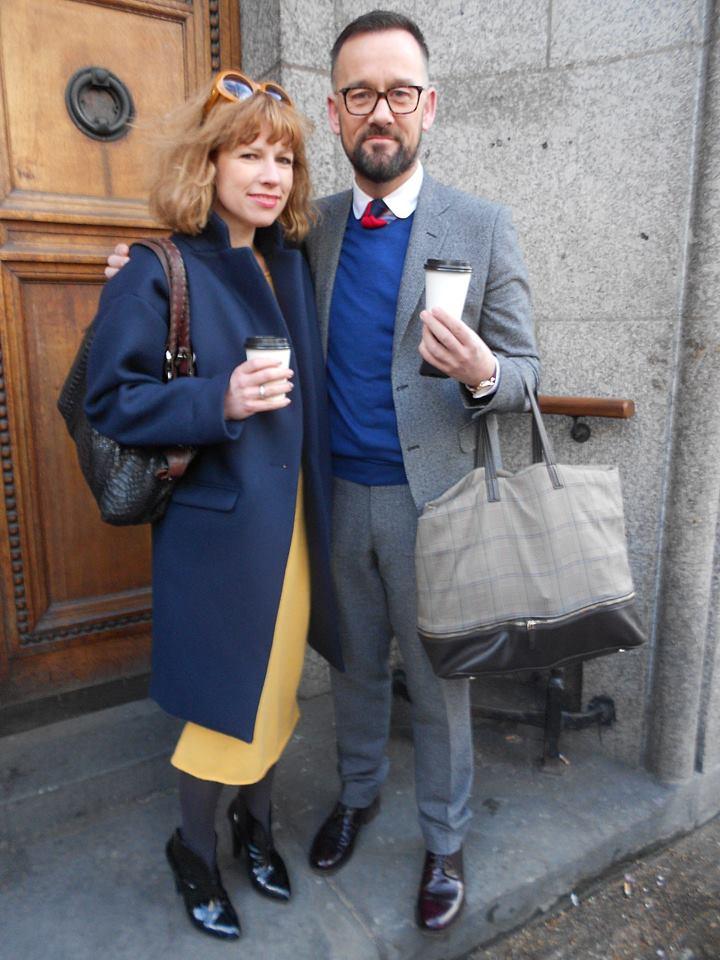 Soňa Lennon a Brendan Courtney v Londýně
