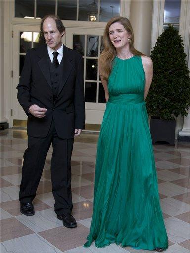 Samantha Power s manželem