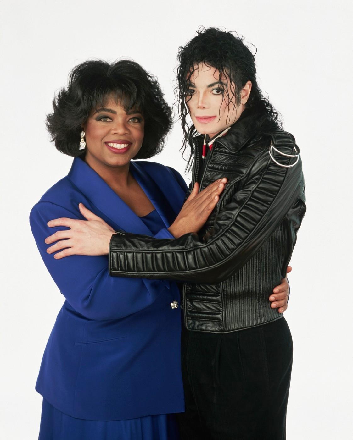 Oprah a Michael Jackson