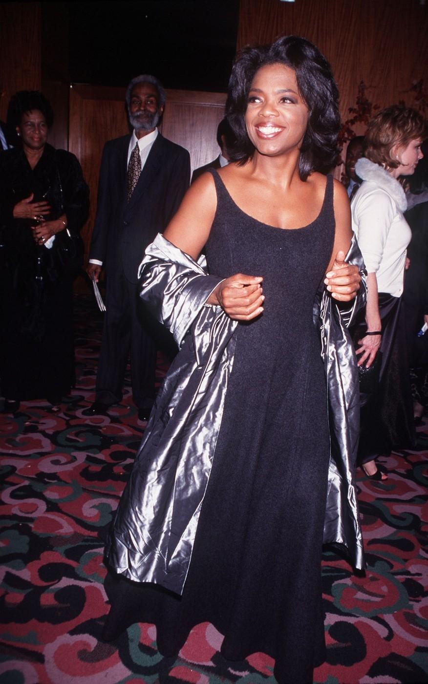 Oprah Winfrey Attending Movie Premiere