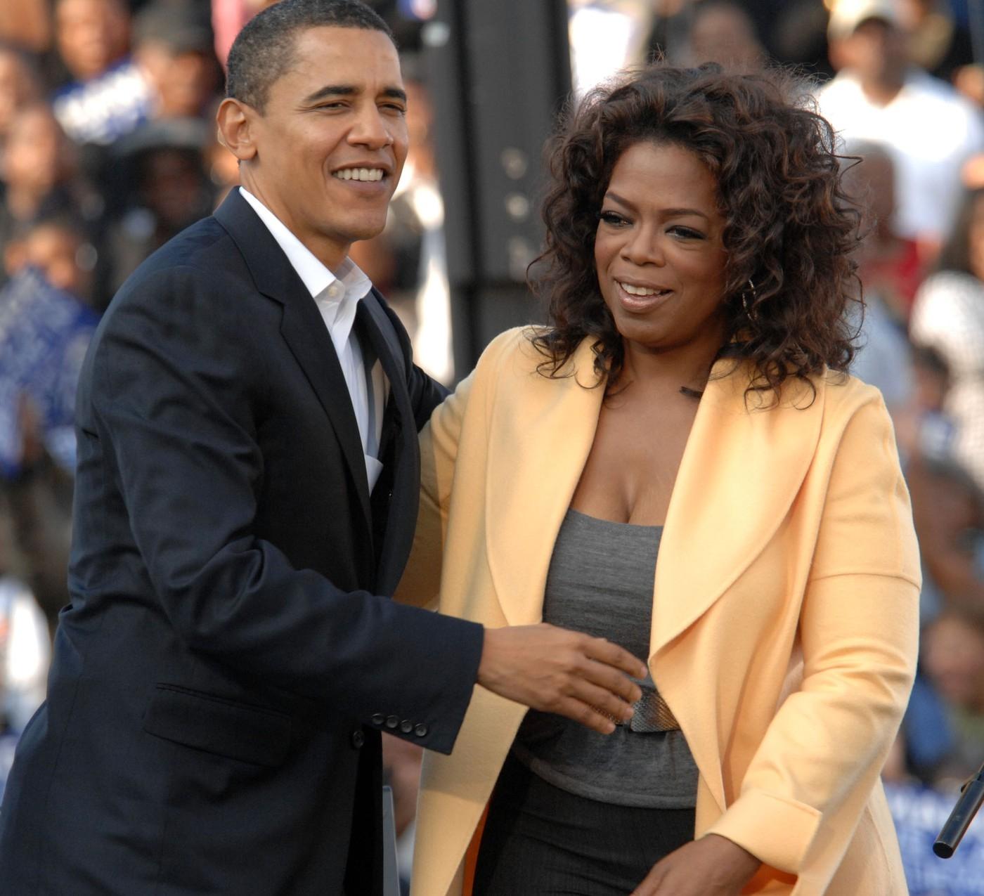 Barack Obama a Oprah Winfrey