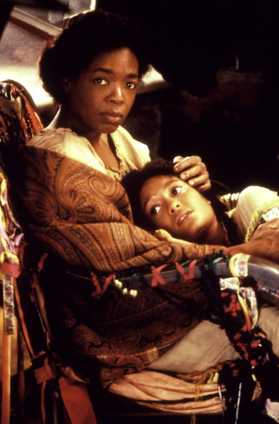 Oprah ve filmu Purpurová barva