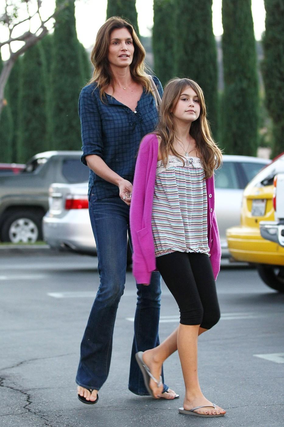 Cindy Crawford s dcerou Kaia