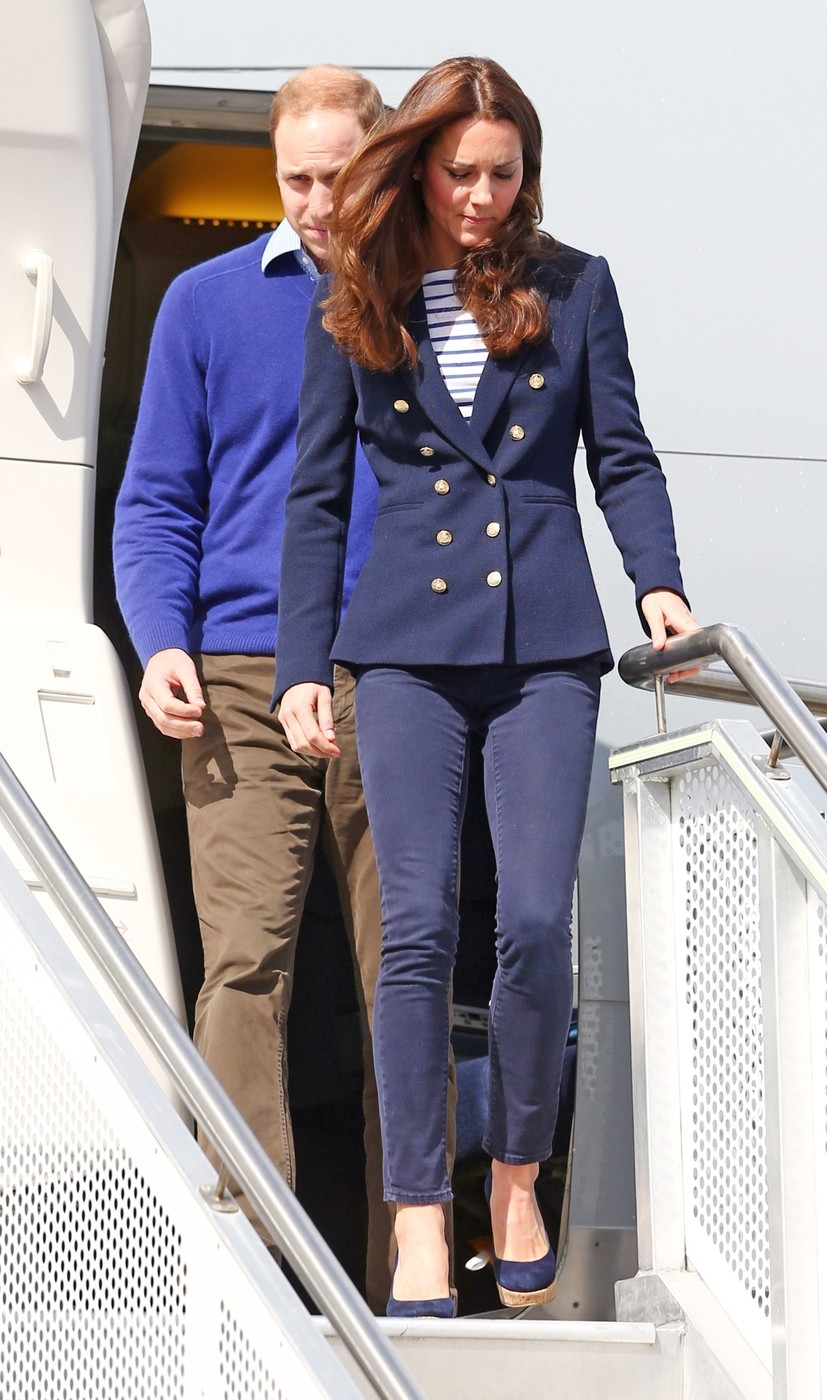 DUKE AND DUCHESS OF CAMBRIDGE ARRIVE IN AUCKLAND NEW ZEALAND