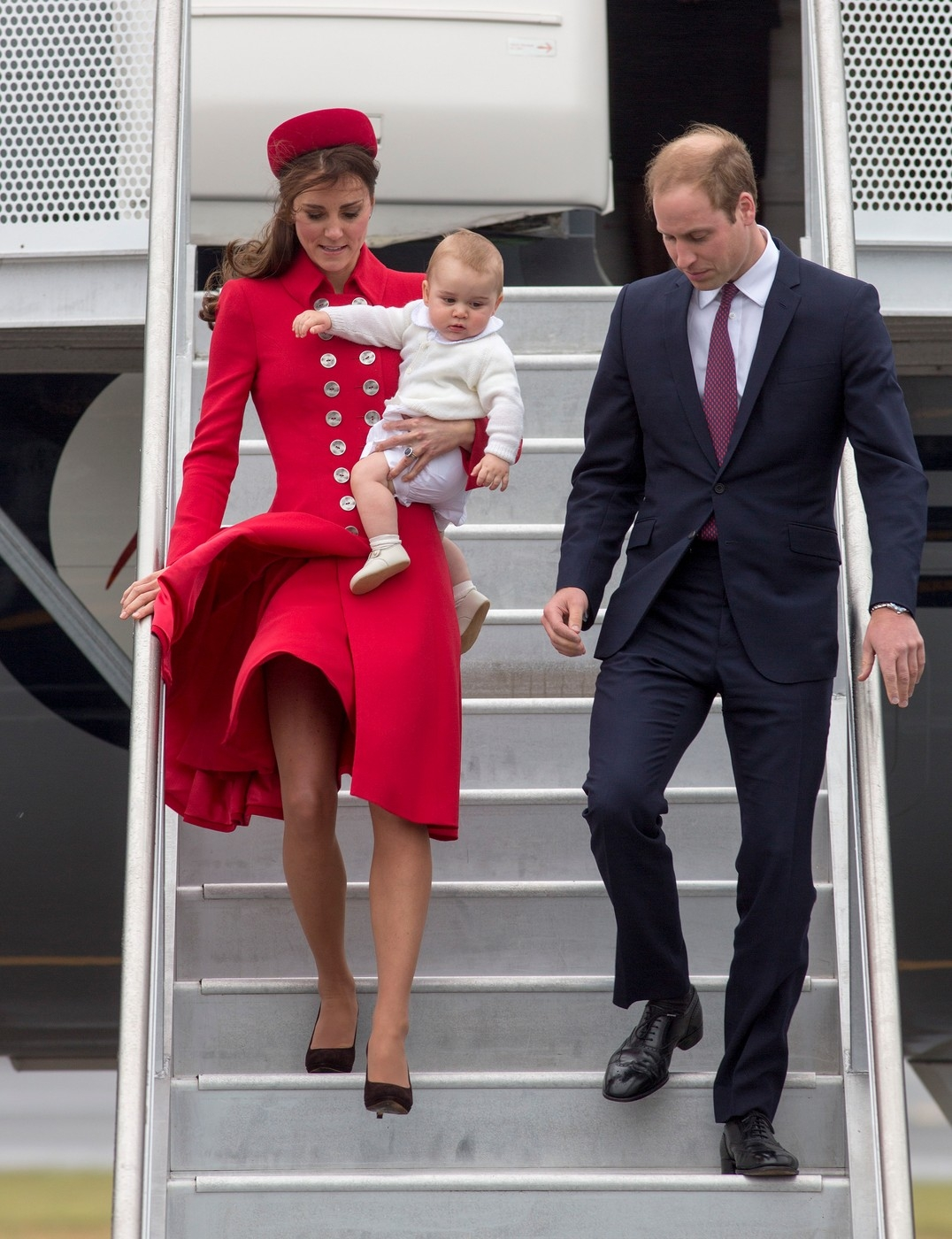 William-Kate- New Zealand