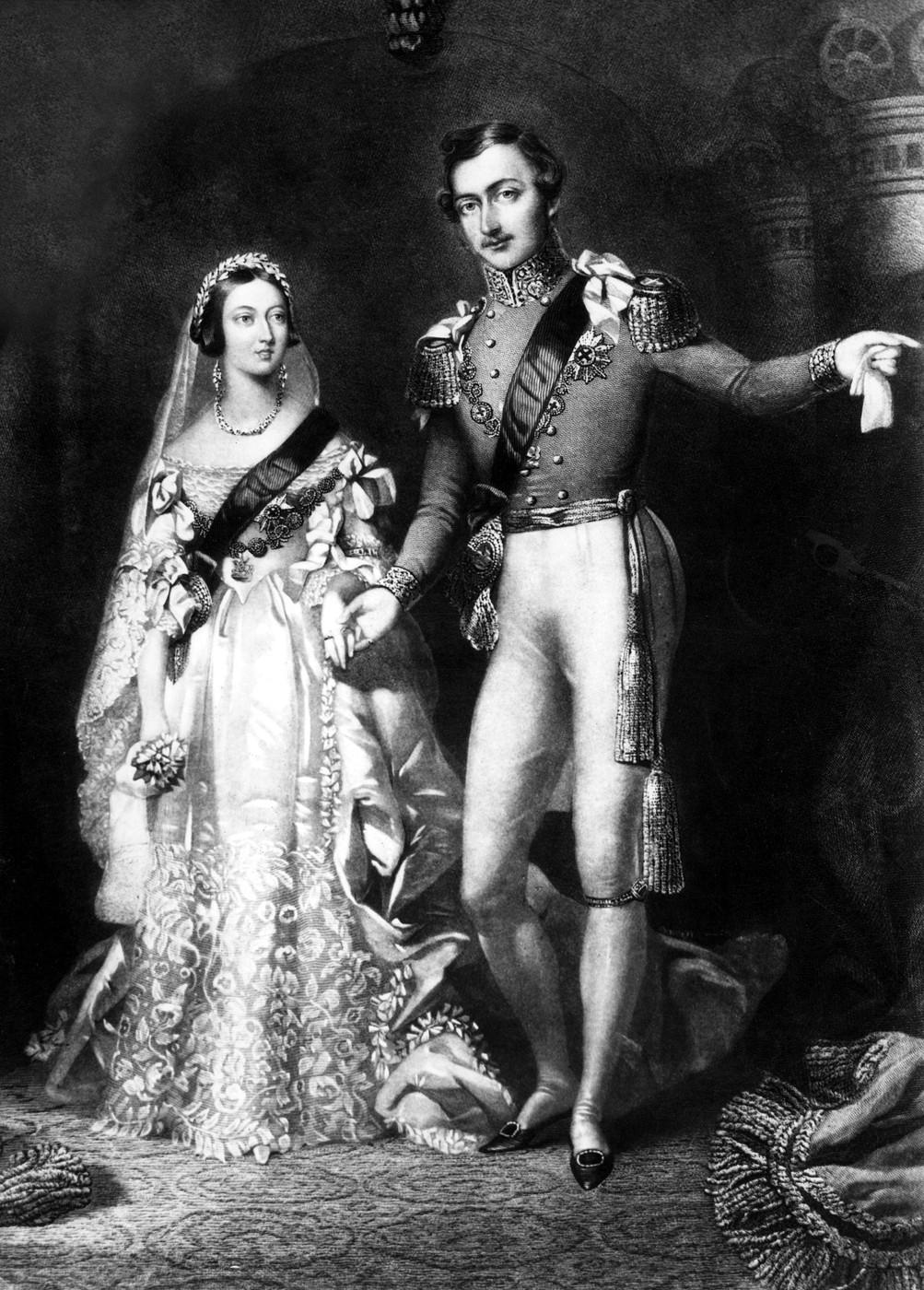 Královna Victoria a princ Albert