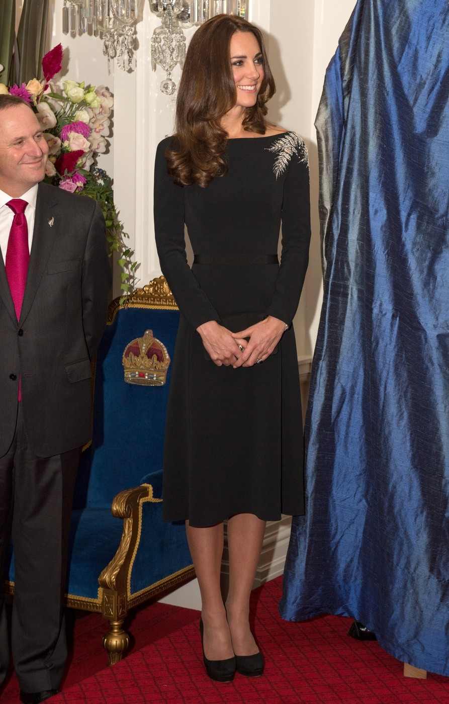 The Duke And Duchess Of Cambridge Tour New Zealand