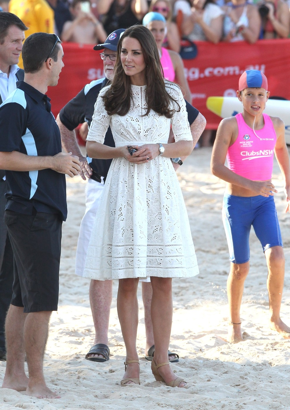 Prince William and Kate Middleton Visit Manly Beach