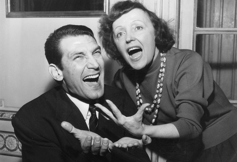 Edith Piaf et Felix Marten