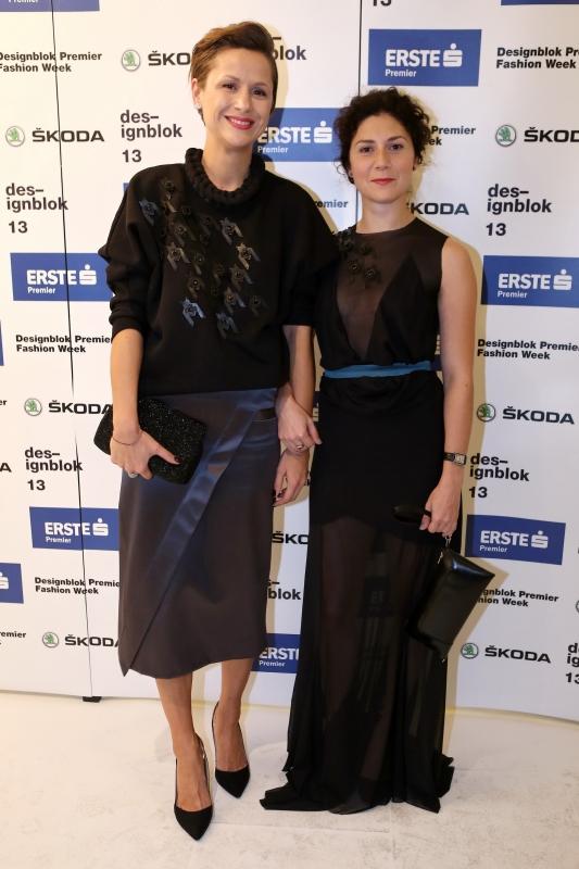 Radka Sirková a Martha Issová