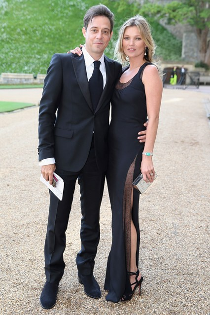 Jamie Hince a Kate Moss
