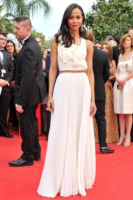 Zoe Soldana v Victoria Beckham