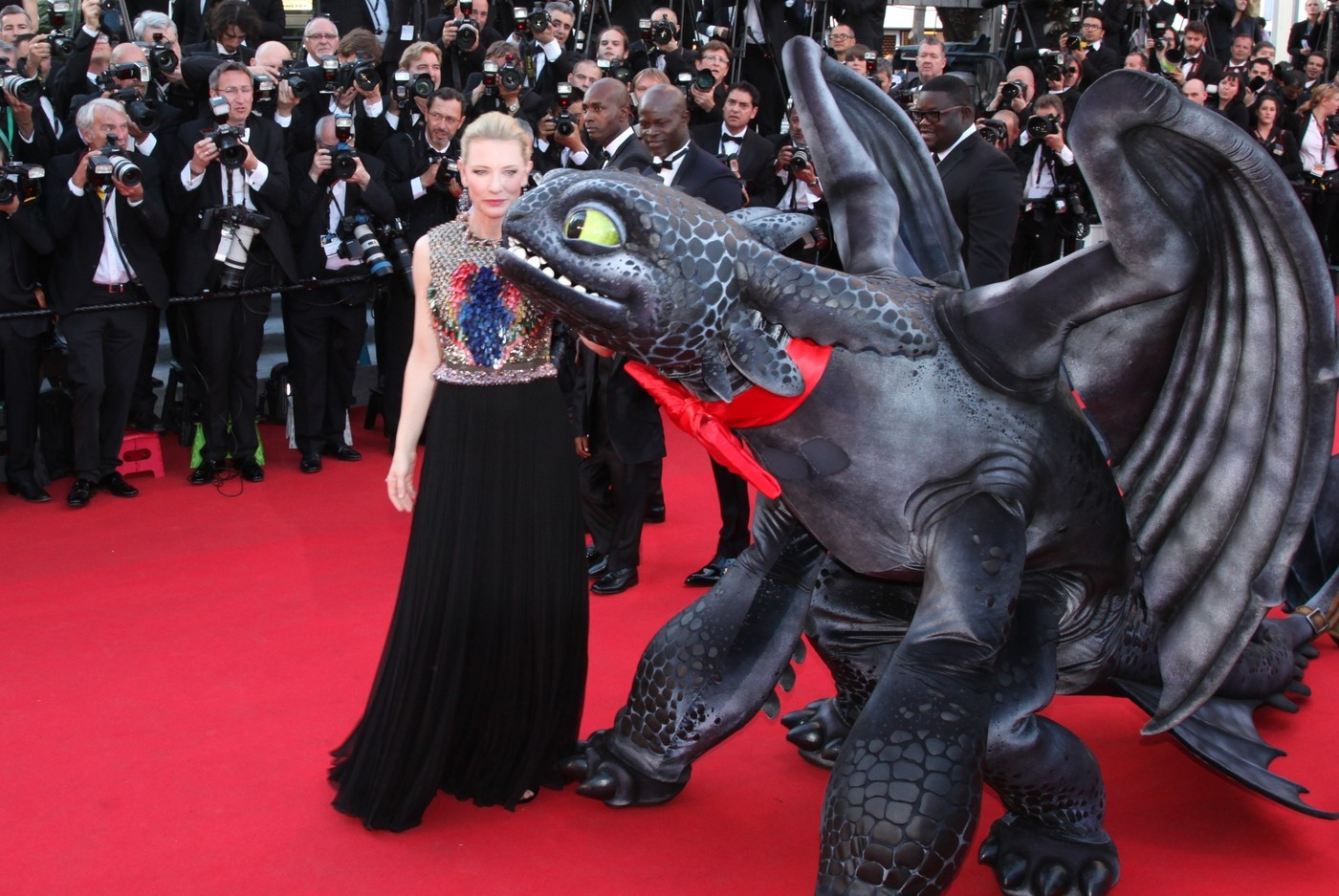 How To Train Your Dragon premiere at the 67th Cannes Film Festival 2014.