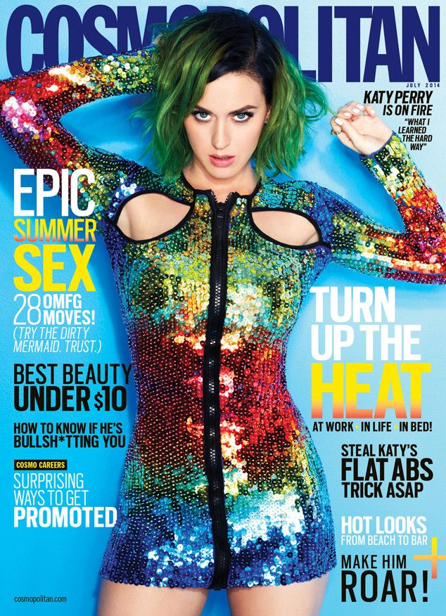 cosmopolitan first-ever global cover star katy perry