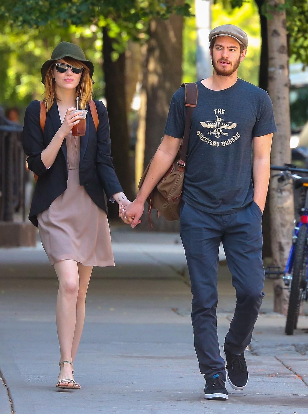 Andrew Garfield a Emma Stone