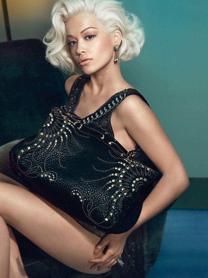 Rita Ora pro Roberto Cavalli