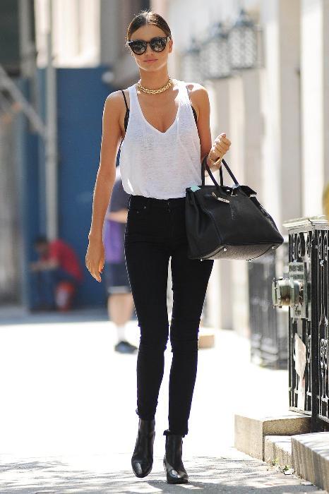 Miranda Kerr Spotted in Manhattan